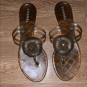 f7be92d5f0 Women Chanel Jelly Sandals on Poshmark